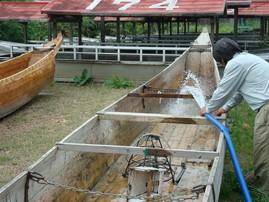 鵜舟の水打ち