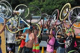 音楽と自転車の祭