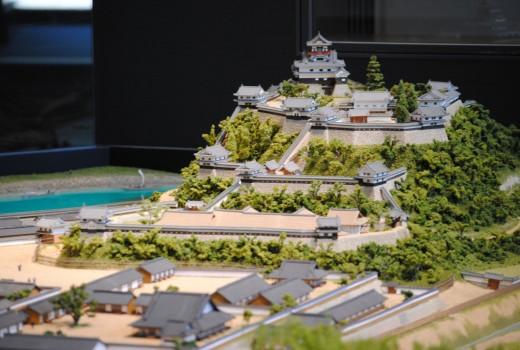 ④ジオラマ拡大(犬山城)
